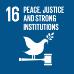 Group logo of Goal 16: Peace, Justice and Strong Institutions